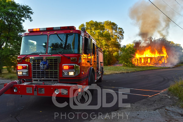Vacant House Fire (8/6/16)