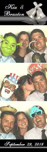 Kia & Braxton's Wedding at The Castle  9/29/18