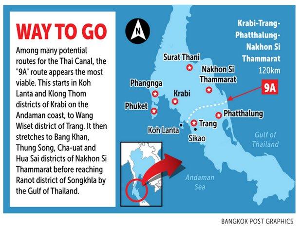Thai Canal Route 9A