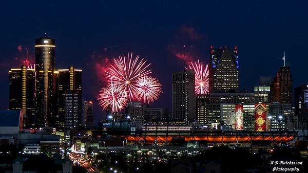 Detroit Fireworks 2016