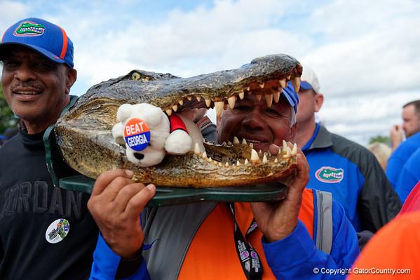 Florida Gators vs Georgia Bulldogs - Gator Walk  10/27/2018