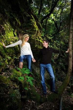 Megan and Stephen - Engagement Photography, Uvas Canyon County Park, Morgan Hill, California