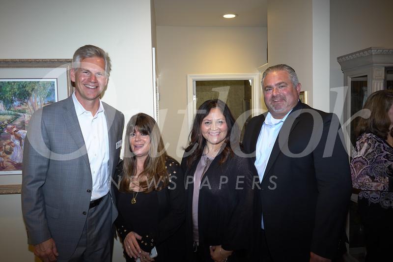 Tom and Ellen Radle with Carol and Greg Kirland