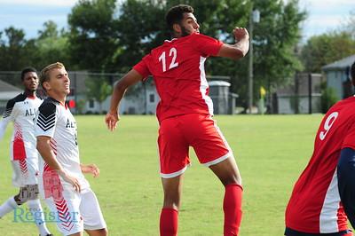 ACC men's soccer vs. Coffeyville CC (10/6/19)