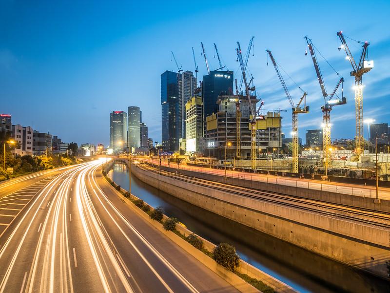 The City Grows, Tel Aviv, Israel
