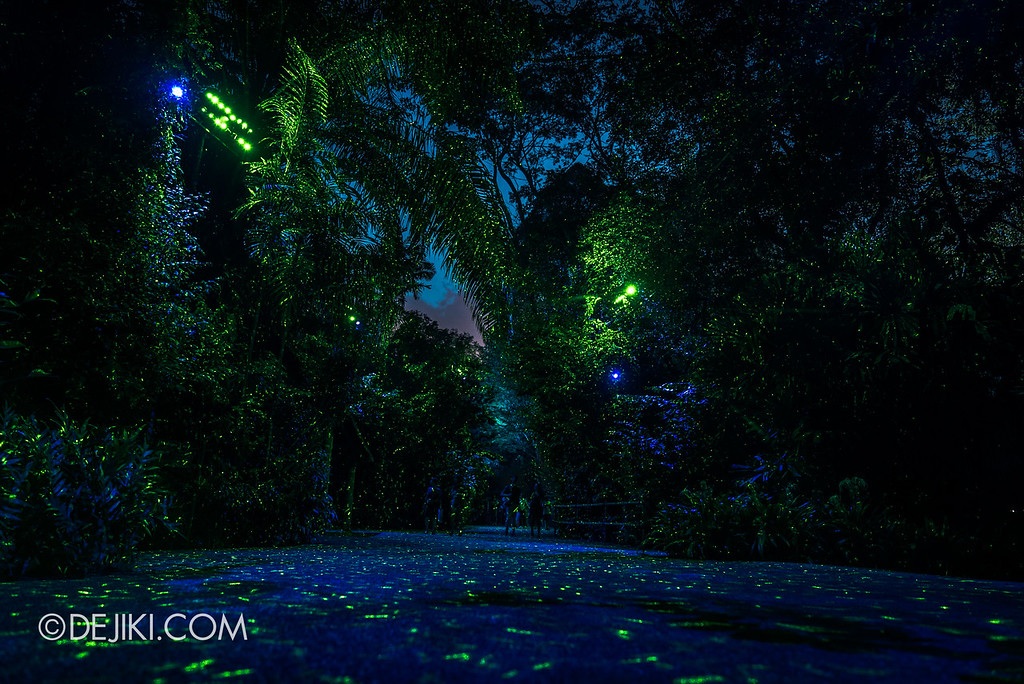 Singapore Zoo Rainforest Lumina - Luminous pathways 2