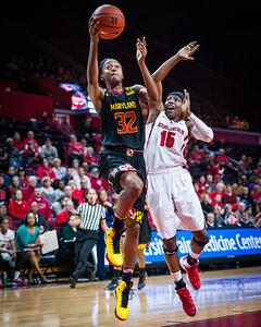Rutgers 59 v Maryland 71