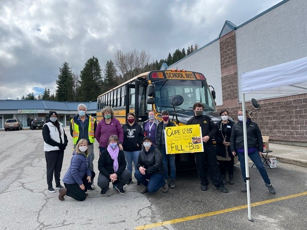 Fill the Bus - CUPE 1285