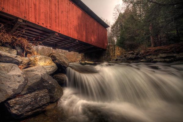 Pack Saddle Covered Bridge, Fairhope, Pennsylvania