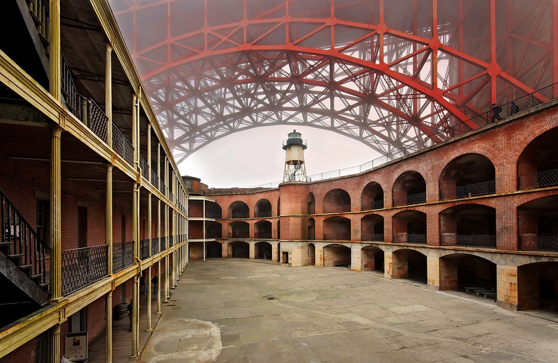 Fort Point Courtyard