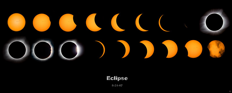 Total Solar Eclipse - August 21, 2017 - Posters and Artwork