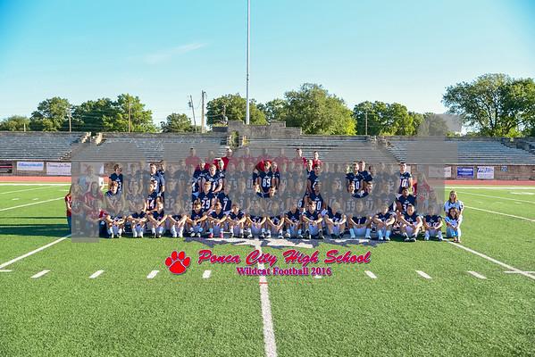Ponca City Wildcat Football 2016