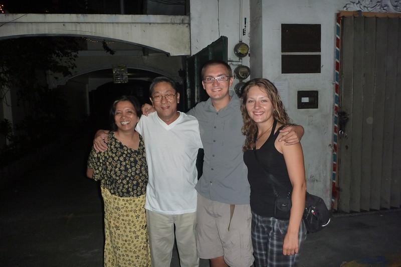 Rodzice Nicol i my