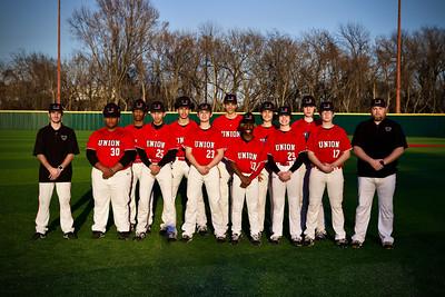2021 Union Baseball - JV White
