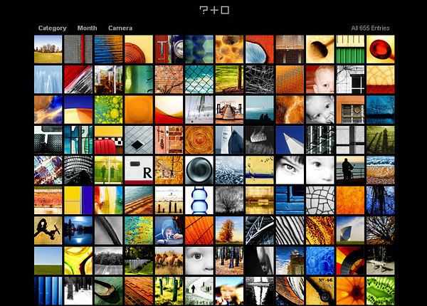 http://www.deceptivemedia.co.uk  Photoblog inglese, con molte immagini astratte