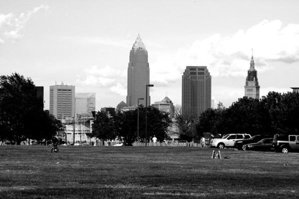 Downtown Cleveland Summer 2008