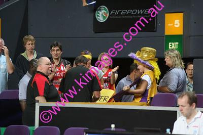 Kings Vs Tigers - Grand Final - Game 3 - 9-3-08 - Cheerleaders & Spectators.