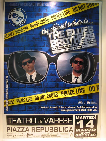 Musical Blues Brothers - Varese marzo 2006