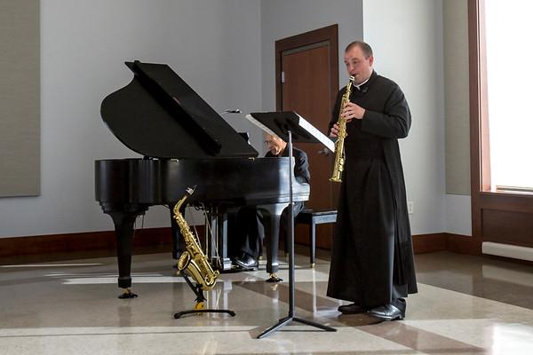 Rev. James O'Reilly Saxophone Recital