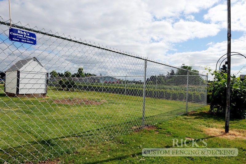 4129 - Galvanized Chain Link Fencing