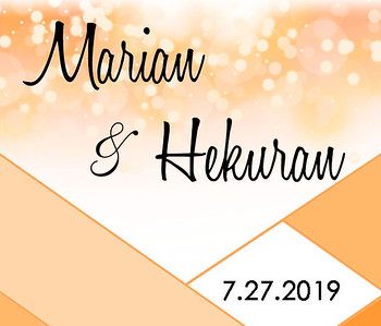 27-07-2019 ~ Marian and Hekuran Wedding