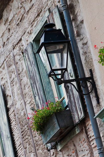 Streets of Languedoc-Roussillon Region