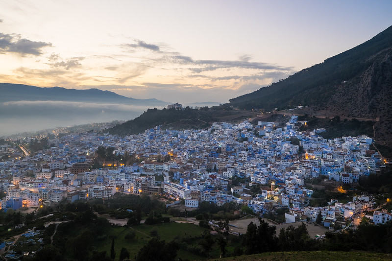 Genevieve Hathaway_Morocco_Chefchaouen_Blue Hour.jpg
