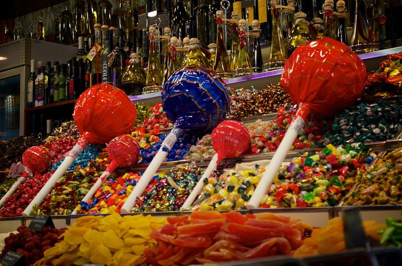 Mercado de La Boqueria Candy
