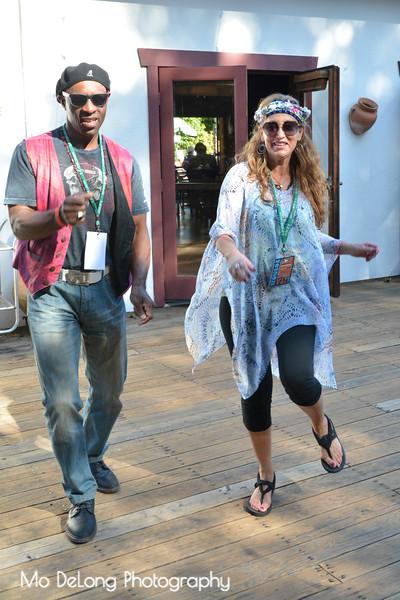 Marcus Lampley and Debra Costa