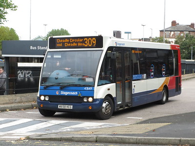 STOCKPORT BUSES OCT 2019