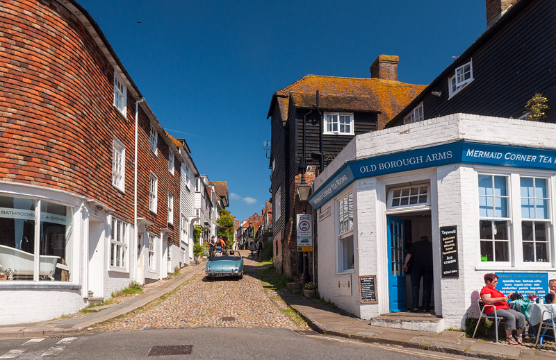Mermaid Street in Rye