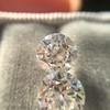 2.88ctw Old European Cut Diamond Pair, GIA I/VVS2 &  GIA H VS1 6