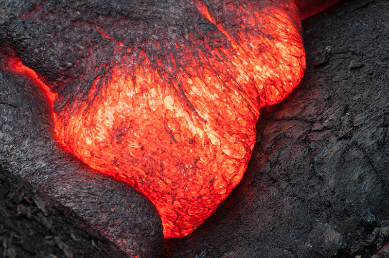 Lava In The Crack