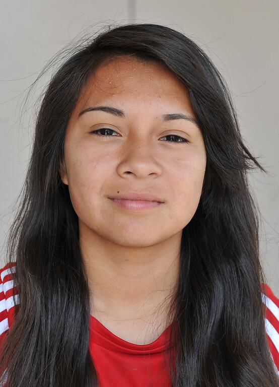 . 3/28/13 - Soccer player Carolina Ornelas of Artesia High. Photo by Brittany Murray / Staff Photographer