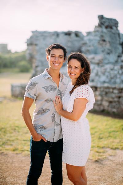 Tulum Honeymoon Couples Session
