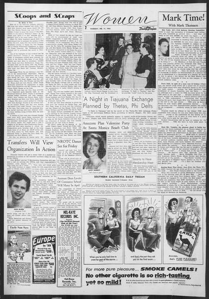 Daily Trojan, Vol. 46, No. 79, February 17, 1955