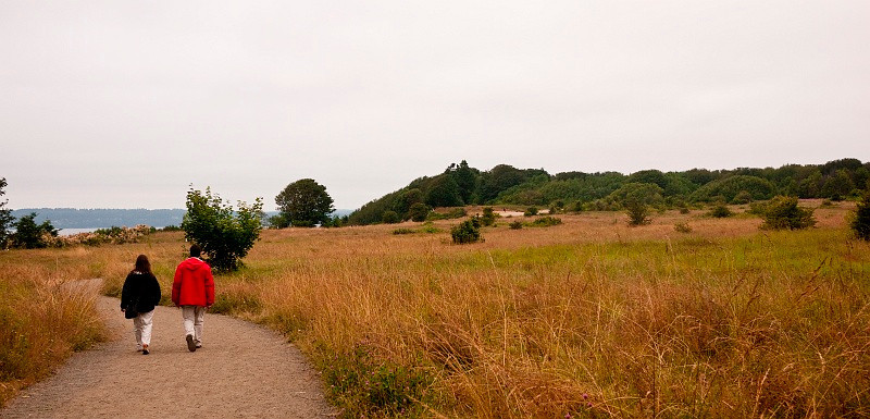 18 Jul 2010: We took a walk in Discovery Park today.