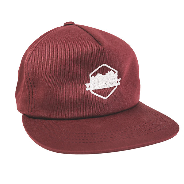Outdoor Apparel - Organ Mountain Outfitters - Hat - Unstructured Snapback Cap Maroon.jpg