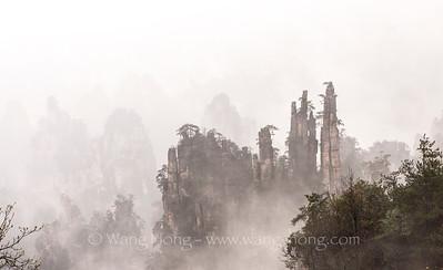 Wulingyuan Scenic & Historic Interest Area, Hunan 湖南武陵源 (1992)