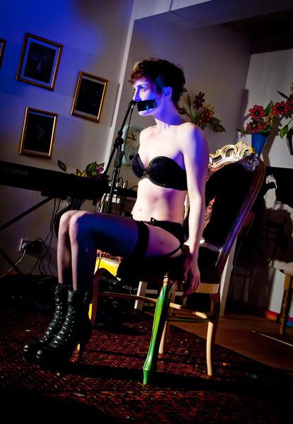 Strand Street Cabaret - Foam Cafe- 15/10/11