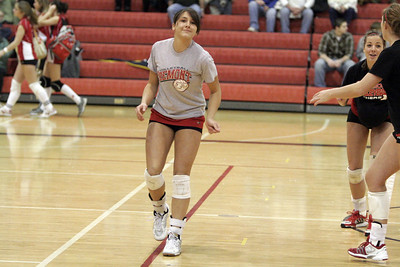 Girls Varsity Volleyball - 2006-2007 - 2/19/2007 Hart