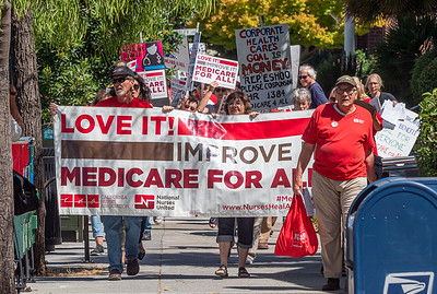 Sep 05 Medicare for All Rally at Anna Eshoo's Office