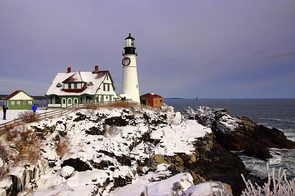 Portland Maine Dec. 2017