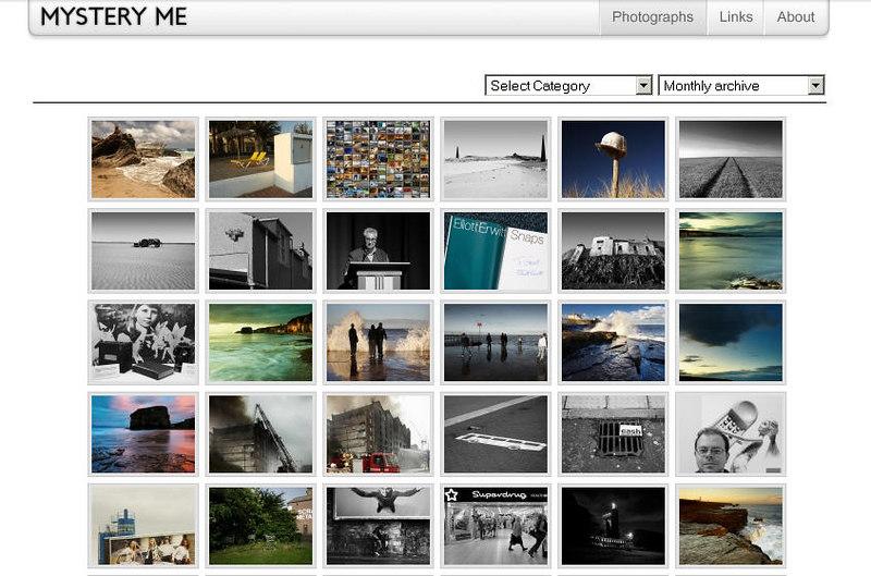 http://www.mysteryme.com  Photoblog di grande fascino