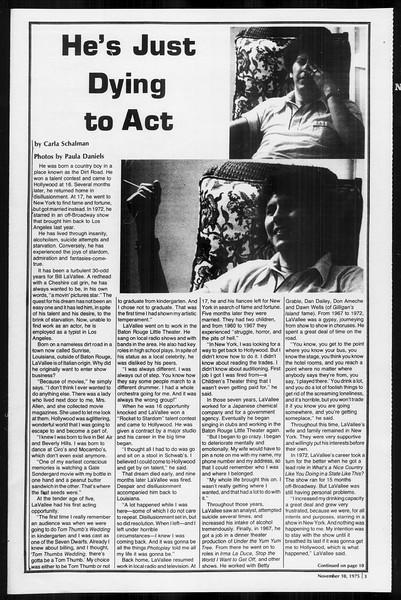 SoCal, Vol. 68, No. 37, November 10, 1975