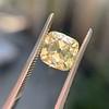 2.10ct Light Yellow Antique Peruzzi Cut Diamond, GIA W-X SI2 3