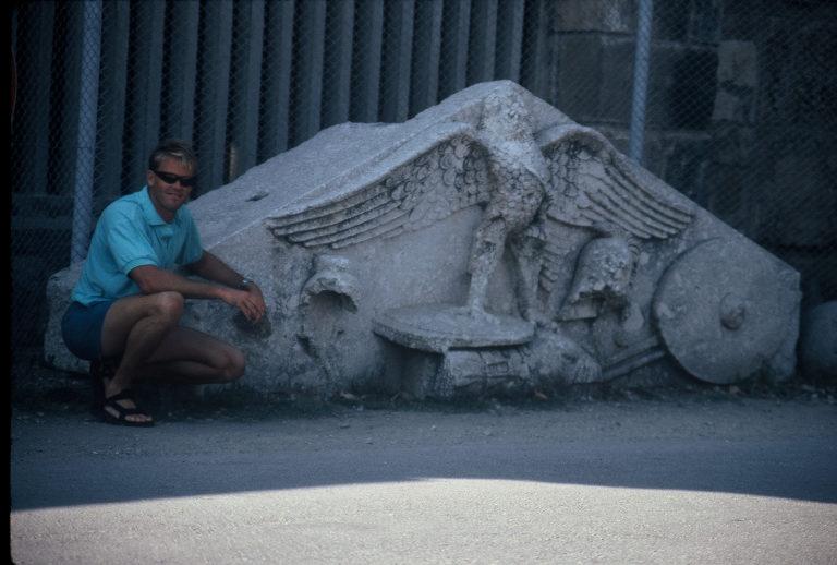 Roman city gate, Side