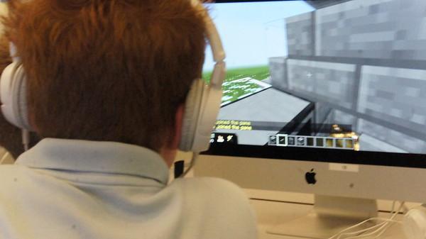 20160524 MinecraftEDU Diagon Alley