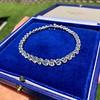 9.50ctw Round Brilliant Diamond Tennis Bracelet 26