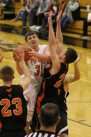 08JV Junior Varsity Boys:  Ironton JV at Wheelersburg JV 2018